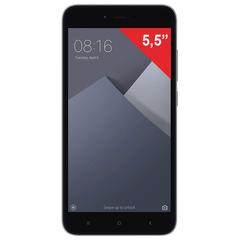 "Смартфон XIAOMI Redmi Note 5A, 2 SIM, 5,5"", 4G, 5/13 Мп, 16 Гб, серый, металл"