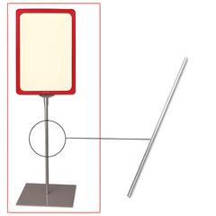 Трубка для сборки напольной стойки под рамку POS, высота 800 мм, диаметр 10 мм