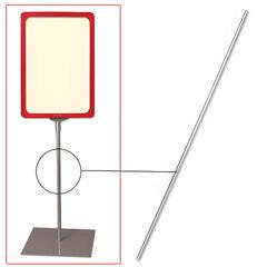 Трубка для сборки напольной стойки под рамку POS, высота 1200 мм, диаметр 10 мм