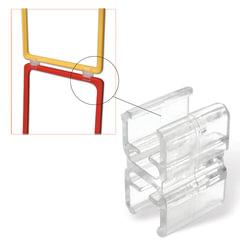 Соединитель для последовательного соединения рамок POS, прозрачный