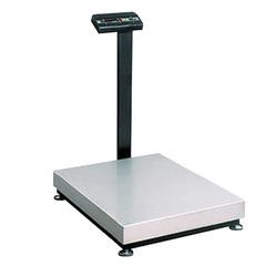 Весы напольные МАССА-К ТВ-M-150.2-А3 (0,4-150 кг), дискретность 50 г, платформа 800x600 мм, со стойкой