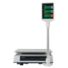 Весы торговые MERCURY M-ER 327P-32.5 LCD (0,1-32 кг), дискретность 5 г, платформа 325x230 мм, со стойкой