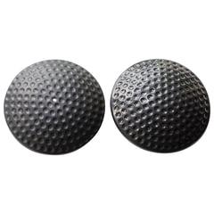 """Датчики противокражные, радиочастотные, комплект 500 шт., """"Golf Tag"""", 64 мм, 8,2 МГц, усиленнный замок, черные"""