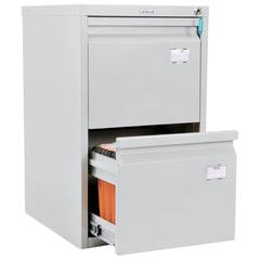 """Шкаф картотечный ПРАКТИК """"A-42"""", 685х408х485 мм, 2 ящика для 84 подвесных папок, без папок"""
