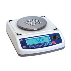 Весы лабораторные МАССА-К ВК-150.1 (0,1-150г), дискретность 0,005 г, платформа диаметром 120 мм