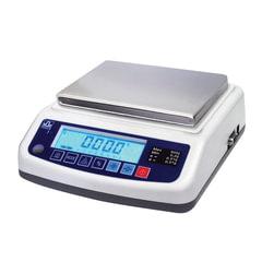 Весы лабораторные МАССА-К ВК-3000.1 (5-3000 г), дискретность 0,1 г, платформа 136х162 мм