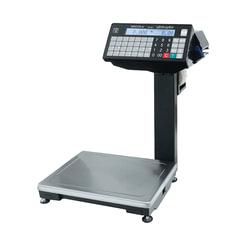 Весы с печатью этикеток МАССА-К ВПМ-6.2-Ф (0,02-6 кг), дискретность 2 г, платформа 340x245 мм,со стойкой