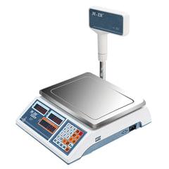 Весы торговые MERCURY M-ER 322ACPX-32.5 LED (0,1-32 кг), дискретность 10 г, платформа 315x235 мм, со стойкой