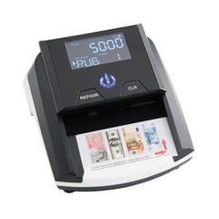 Детектор банкнот MERCURY D-20A LCD, автоматический, ИК, магнитная детекция, черный