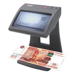 """Детектор банкнот CASSIDA Primero, ЖК-дисплей 11 см, просмотровый, ИК детекция, спецэлемент """"М"""""""