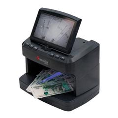 """Детектор банкнот CASSIDA 2300 DA, ЖК-дисплей 18 см, просмотровый, ИК, УФ, антитокс, спецэлемент """"М"""""""