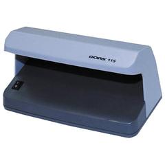 Детектор банкнот DORS 115, просмотровый, УФ-детекция, серый