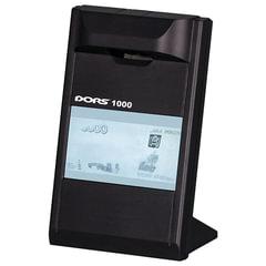 """Детектор банкнот DORS 1000 М3, ЖК-дисплей 10 см, просмотровый, ИК детекция, спецэлемент """"М"""", черный"""
