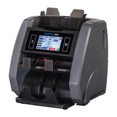 Счетчик-сортировщик банкнот DORS 800 RUB, USD, EUR, 1500 банкнот/мин., ИК-, УФ-, магнитная- детекция