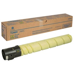 Тонер KONICA MINOLTA (TN-512Y) bizhub C454/C554, желтый, оригинальный, ресурс 26000 стр.