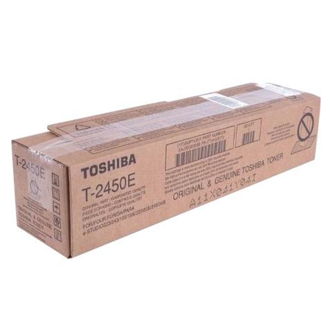 Тонер-картридж TOSHIBA (T-2450E) e-STUDIO223/243/195/225/245, черный, оригинальный, ресурс 25000 стр.