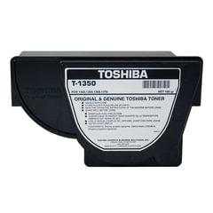 Тонер-картридж TOSHIBA (T-1350E) 1340/1350/1360/1370, черный, оригинальный, ресурс 4300 стр.