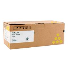 Тонер-картридж RICOH (407902) Ricoh SP C340DN, желтый, ресурс 3800 стр., оригинальный