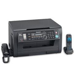 МФУ лазерное PANASONIC KX-MB2051RU-B (принтер, копир, сканер, факс, радиотел.), А4, 24 стр./мин., 10000 стр./мес., LCD, с/карта