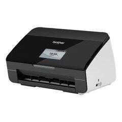 Сканер потоковый BROTHER ADS-2600W, А4, 24 стр./мин., 1200х1200, ДАПД, Wi-Fi, сетевая карта LCD (кабель USB в комплекте)