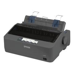 Принтер матричный EPSON LX-350 (9 игольный), А4, 347 знаков/сек, 4 млн/символов, USB, LPT, COM