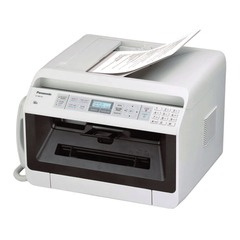 МФУ лазерное PANASONIC KX-MB2130RUW (принтер, сканер, копир, факс, телефон, PC-факс), А4, 26 с/мин, 12000 с/мес, ДУПЛЕКС, АПД, с/к