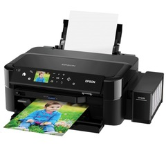 Принтер струйный EPSON L810, А4, 5760x1440 dpi, 37 стр./мин, LCD, СНПЧ, печать фото без ПК