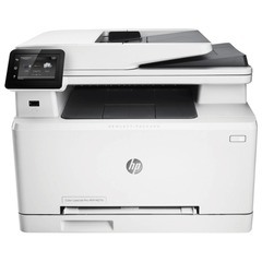 МФУ лазерное ЦВЕТНОЕ HP LaserJet Pro M277dw (принтер, сканер, копир, факс), А4, 18 стр./мин, 30000 стр./мес. АПД ДУПЛЕКС Wi-Fi с/к