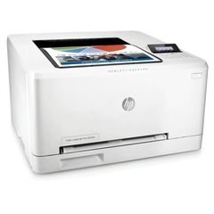 Принтер лазерный ЦВЕТНОЙ HP Color LaserJet Pro M252n, А4, 18 стр./мин, 30000 стр./мес., сетевая карта (без кабеля USB)