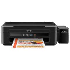 МФУ струйное EPSON L222 (принтер, копир, сканер), А4, 5760х1440, 27стр./мин, с СНПЧ (без кабеля USB)