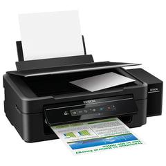 МФУ струйное EPSON L366 (принтер, копир, сканер), А4, 5760х1440, 33 стр./мин, с СНПЧ, Wi-Fi (без кабеля USB)