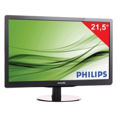 "Монитор LED 21,5"" (55 см) PHILIPS 226V4LAB, 1920x1080, TN+film, 16:9, DVI, D-Sub, 250 cd, 5 ms, черный"