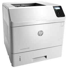 Принтер лазерный HP LaserJet Enterprise M605n, А4, 55 стр./мин, 225000 стр./мес., сетевая карта (без кабеля USB)