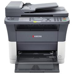 МФУ лазерное KYOCERA FS-1120MFP (принтер, копир, сканер, факс), А4, 20 стр./мин, 20000 стр./мес., АПД (без кабеля USB)