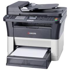 МФУ лазерное KYOCERA FS-1125MFP (принтер, копир, сканер, факс), А4, 25 стр./мин, 20000 стр./мес, ДУПЛЕКС, АПД, с/к (б/к USB)