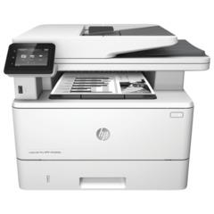 МФУ лазерное HP LaserJet Pro M426fdn (принтер, копир, сканер, факс), А4, 38 стр./мин, 80000 стр./мес., ДУПЛЕКС, АПД, с/к (б/к USB)