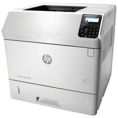 Принтер лазерный HP LaserJet Enterprise M605dn, А4, 55 стр./мин., 225000 стр./мес., ДУПЛЕКС, сетевая карта (без кабеля USB)