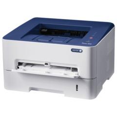 Принтер лазерный XEROX Phaser 3052NI, А4, 27 стр./мин, 30000 стр.,/мес., Wi-Fi, сетевая карта (без кабеля USB)