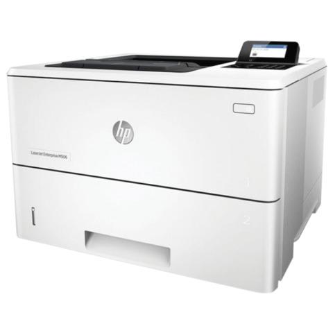 Принтер лазерный HP LaserJet Enterprise M506dn, А4, 43 стр./мин., 150000 стр./мес., ДУПЛЕКС, сетевая карта (без кабеля USB)