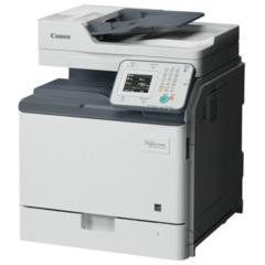 МФУ лазерное ЦВЕТНОЕ CANON iR C1225 (копир, принтер, сканер), 40000 стр./мес., ДУПЛЕКС, ДАПД, сетевая карта, без кабеля USB
