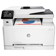 МФУ лазерное ЦВЕТНОЕ HP LaserJet Pro M274n (принтер, сканер, копир), А4, 18 стр./мин., 30000 стр./мес., сетевая карта, б/к USB
