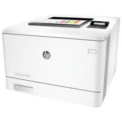 Принтер лазерный ЦВЕТНОЙ HP LaserJet Pro 400 M452dn, А4, 27 стр./мин., 50000 стр./мес., ДУПЛЕКС, сетевая карта, без кабеля USB