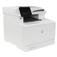 МФУ лазерное ЦВЕТНОЕ HP LaserJet Pro M477fdn (принтер, сканер, копир, факс), А4, 27 стр./мин, 50000 стр./мес., АПД, ДУПЛЕКС, с/к