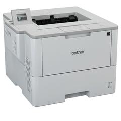 Принтер лазерный BROTHER HL-L6400DW, A4, 50 стр.\мин., 150000 стр.\мес., ДУПЛЕКС, Wi-Fi, NFC, сетевая карта (без кабеля USB)