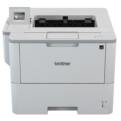 Принтер лазерный BROTHER HL-L6300DW, A4, 46 стр.\мин., 150000 стр.\мес., ДУПЛЕКС, Wi-Fi, NFC, сетевая карта (без кабеля USB)