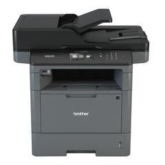 МФУ лазерное BROTHER MFC-L5700DN (принтер, копир, сканер, факс), А4, 40 стр./мин., 50000 стр./мес., АПД, ДУПЛЕКС, сетевая карта