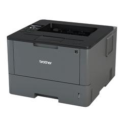 Принтер лазерный BROTHER HL-L5200DW, A4, 40 стр.\мин., 50000 стр.\мес., ДУПЛЕКС, Wi-Fi, сетевая карта (без кабеля USB)