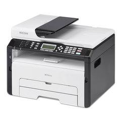 МФУ лазерное RICOH SP 213SFNw (принтер, сканер, копир, факс), А4, 22 стр., 20000 стр./мес., АПД, Wi-Fi, сетевая карта