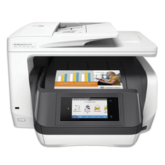 МФУ струйное HP OfficeJet Pro 8730 (принтер, сканер, копир, факс), A4, 2400х600, 24 стр./мин, ДУПЛЕКС, АПД, Wi-Fi, с/к