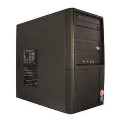 Системный блок IRU Office 311 MT INTEL Celeron G3900 2,8 ГГц, 4 ГБ, 500 ГБ, DVD-RW, Windows 10 Professional, черный